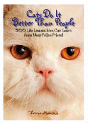 Cats do it better than people by theresa mancuso